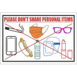 dont-share-personal-items-sign-499x499